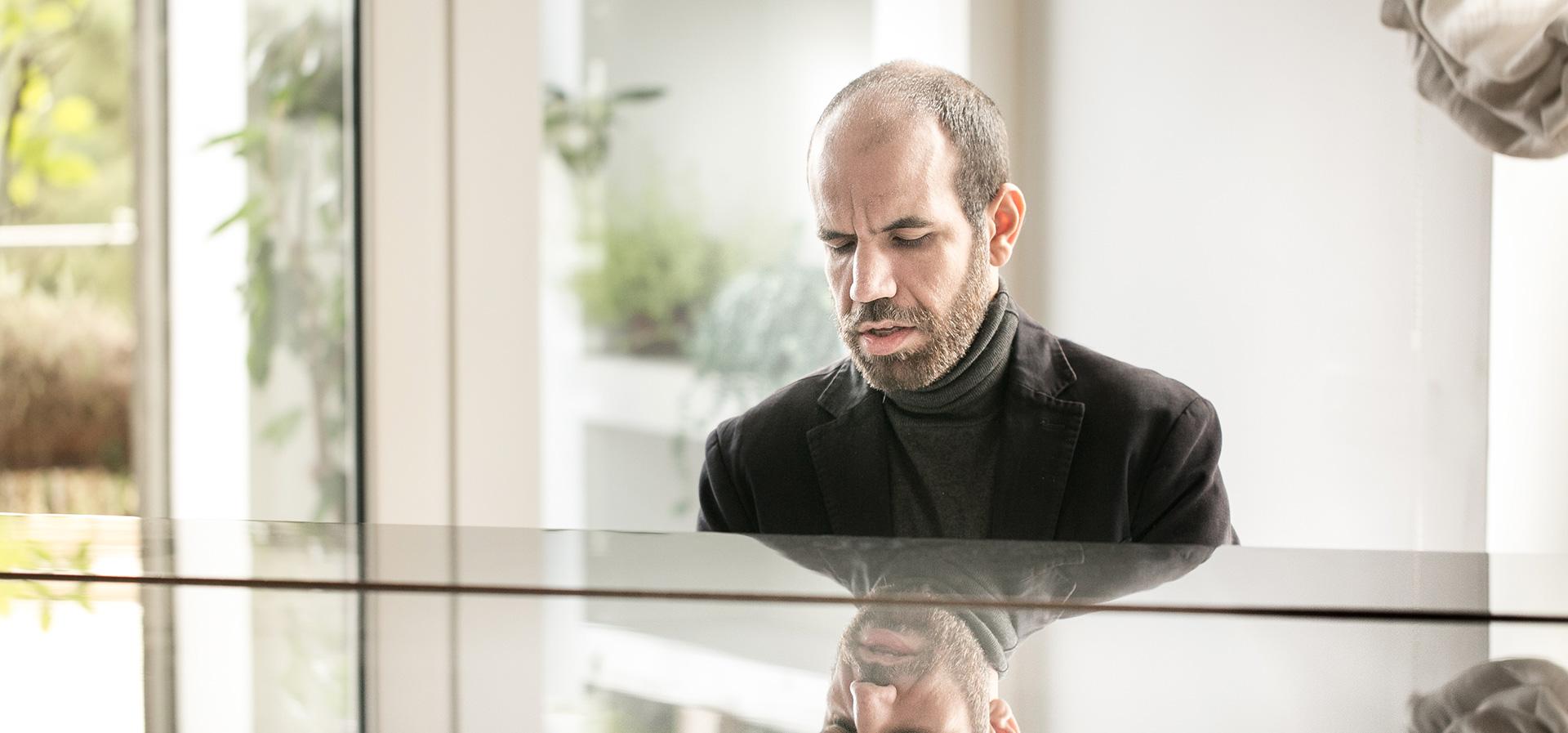 Yakir Arbib Playing Piano